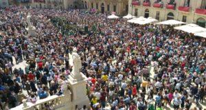 piazza duomo festa santa lucia